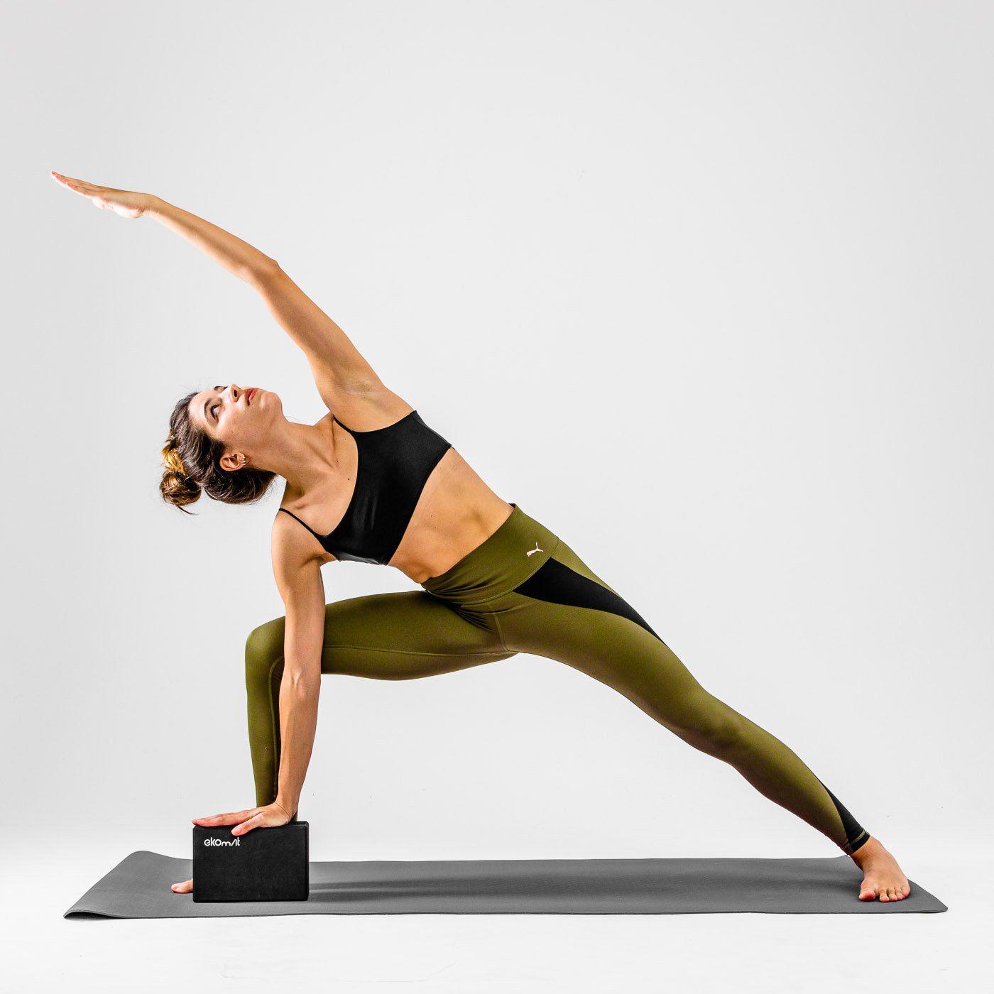 Ekomat Black Mat Pro - Tapete de Yoga