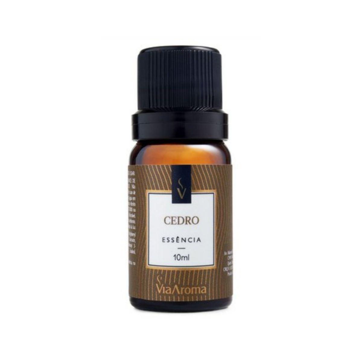 Essência Via Aroma  10 ml Cedro