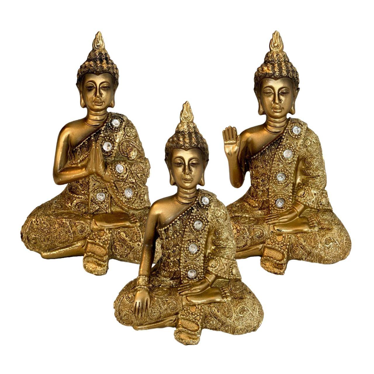 Estatueta de Buda - Resina