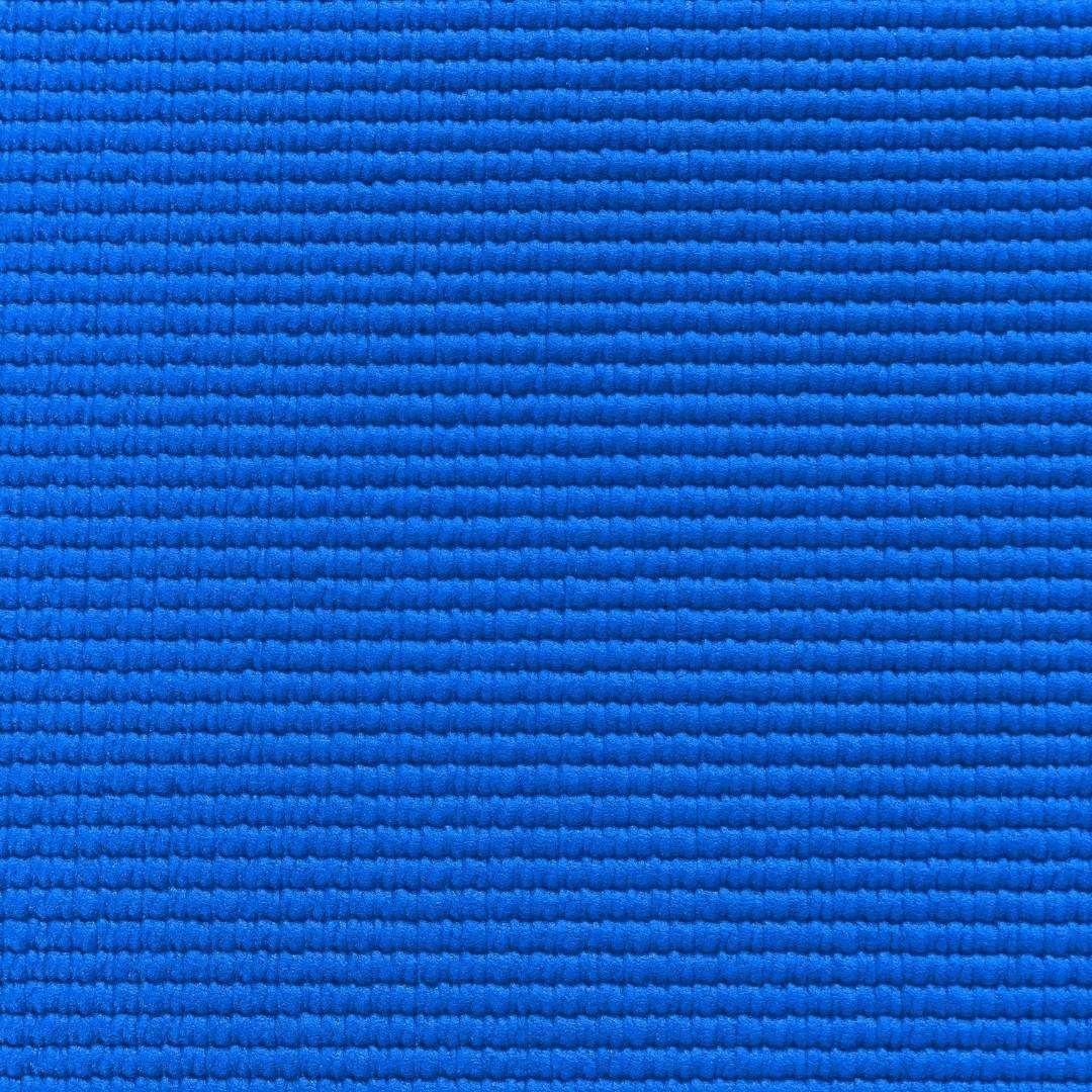 Kit Básico Iniciante Yoga AZUL: Tapete + 2 Blocos EVA + 1 Cinto de Alongamento