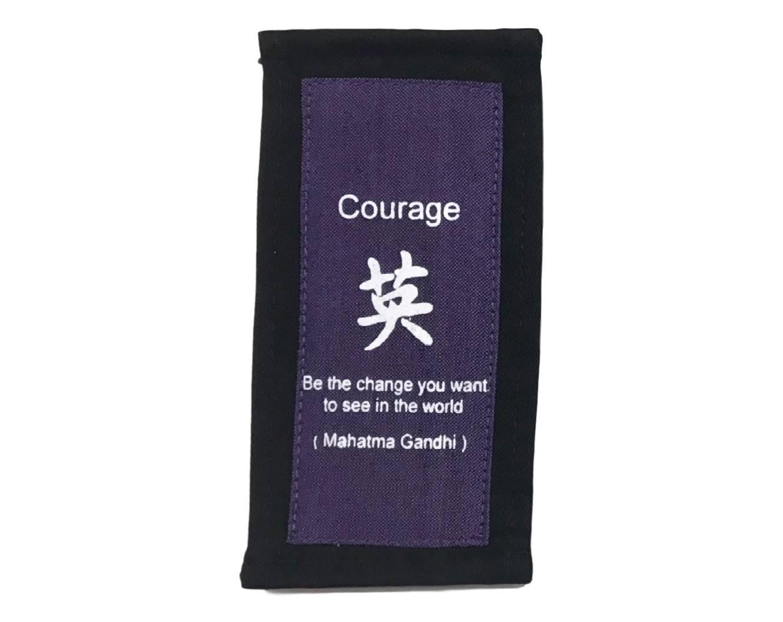 Marcador de Página (Livro) - Coragem