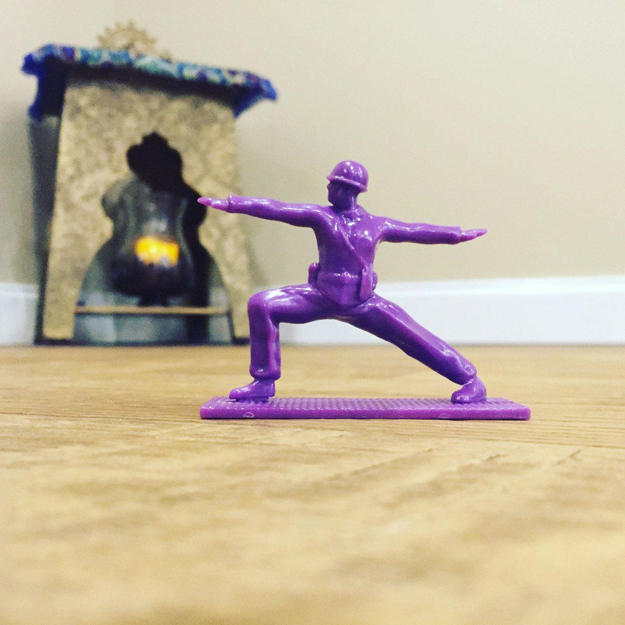 Military Yoga Joes - Roxo