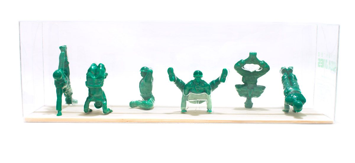 Military Yoga Joes - Verde - Posturas Avançadas