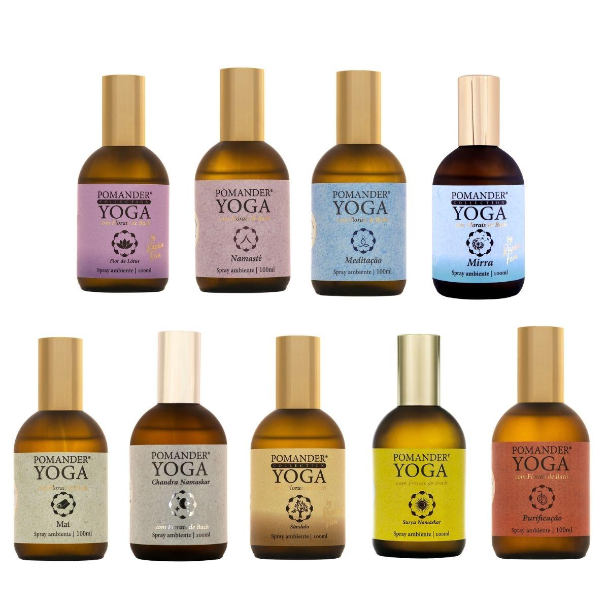 Pomander Yoga 100 ml - 9 Tipos - Aromaterapia