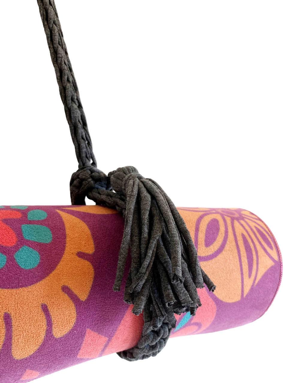 Porta Tapete - Crochê com ALÇA LARGA (Produto artesanal)