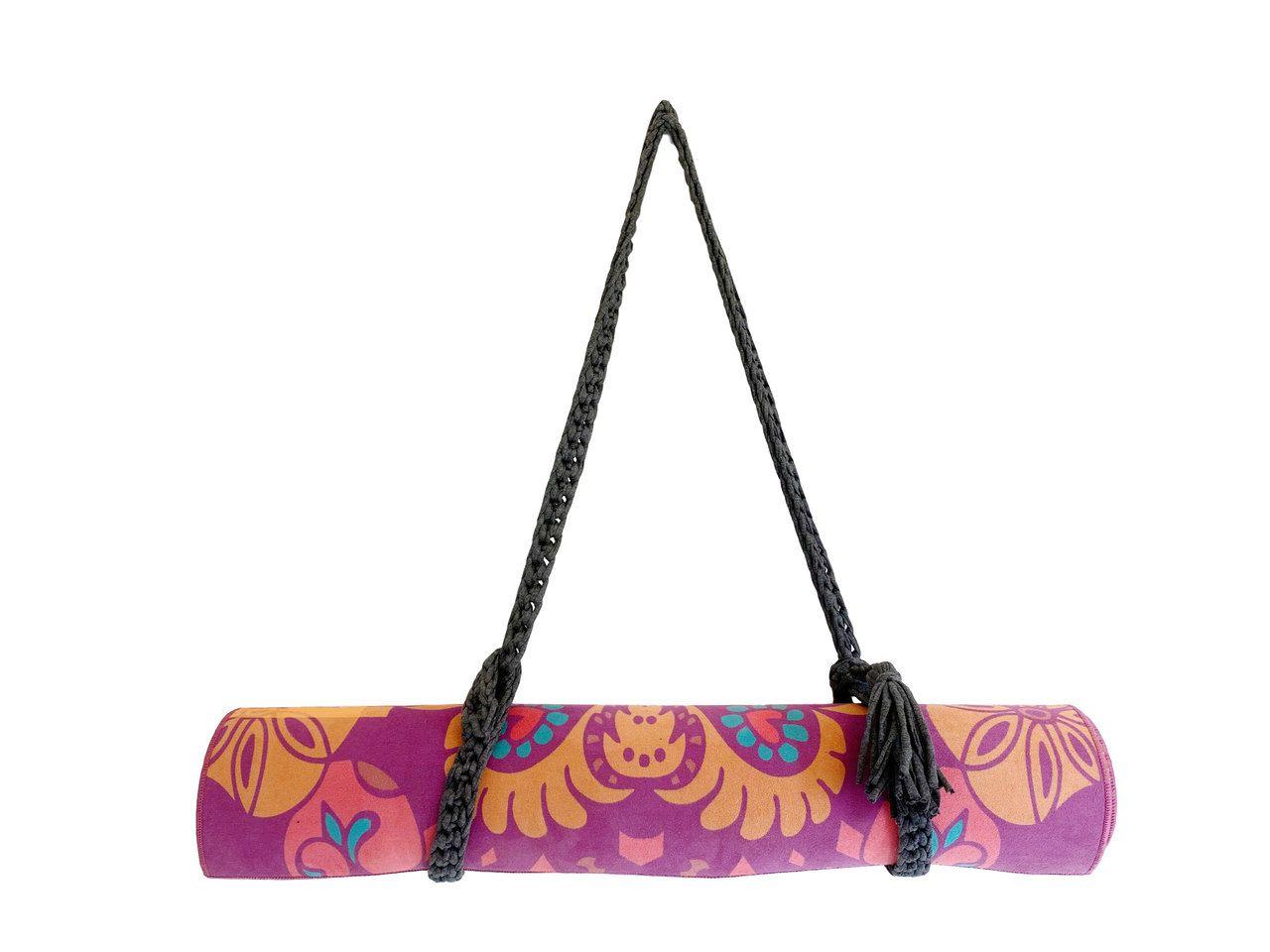 Porta Tapete - Crochê com alça padrão (Produto artesanal)