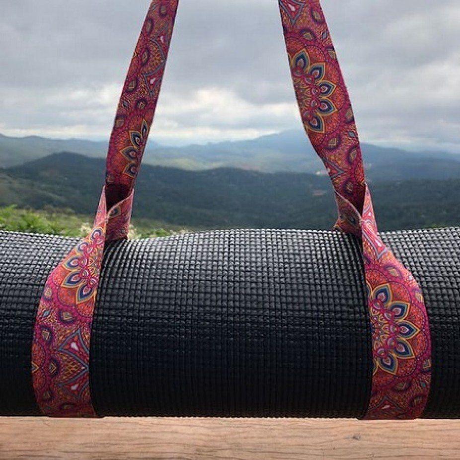 Porta Tapete Estampado - Yoga Mat Strap