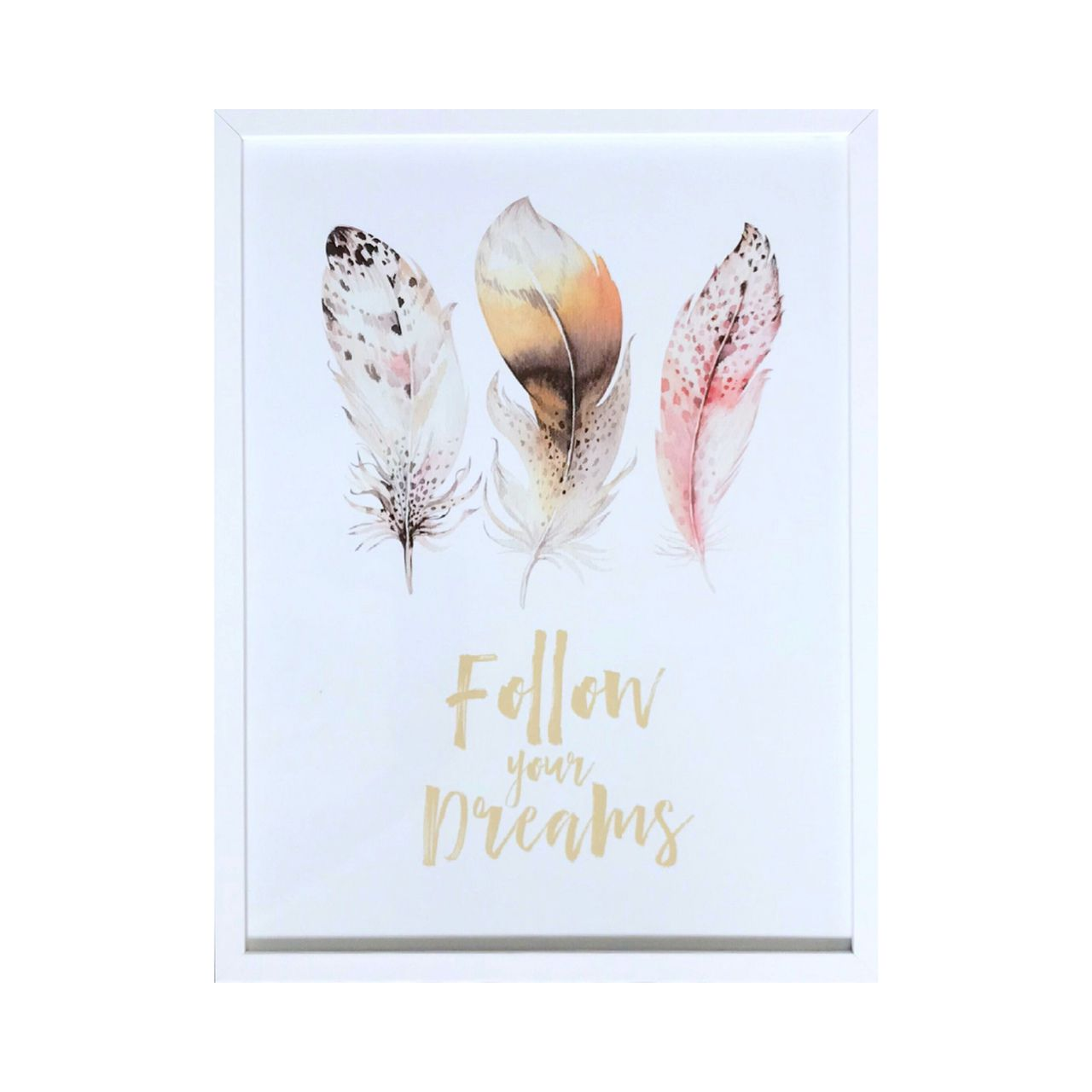 Quadro - Follow Your Dreams - 32x42cm
