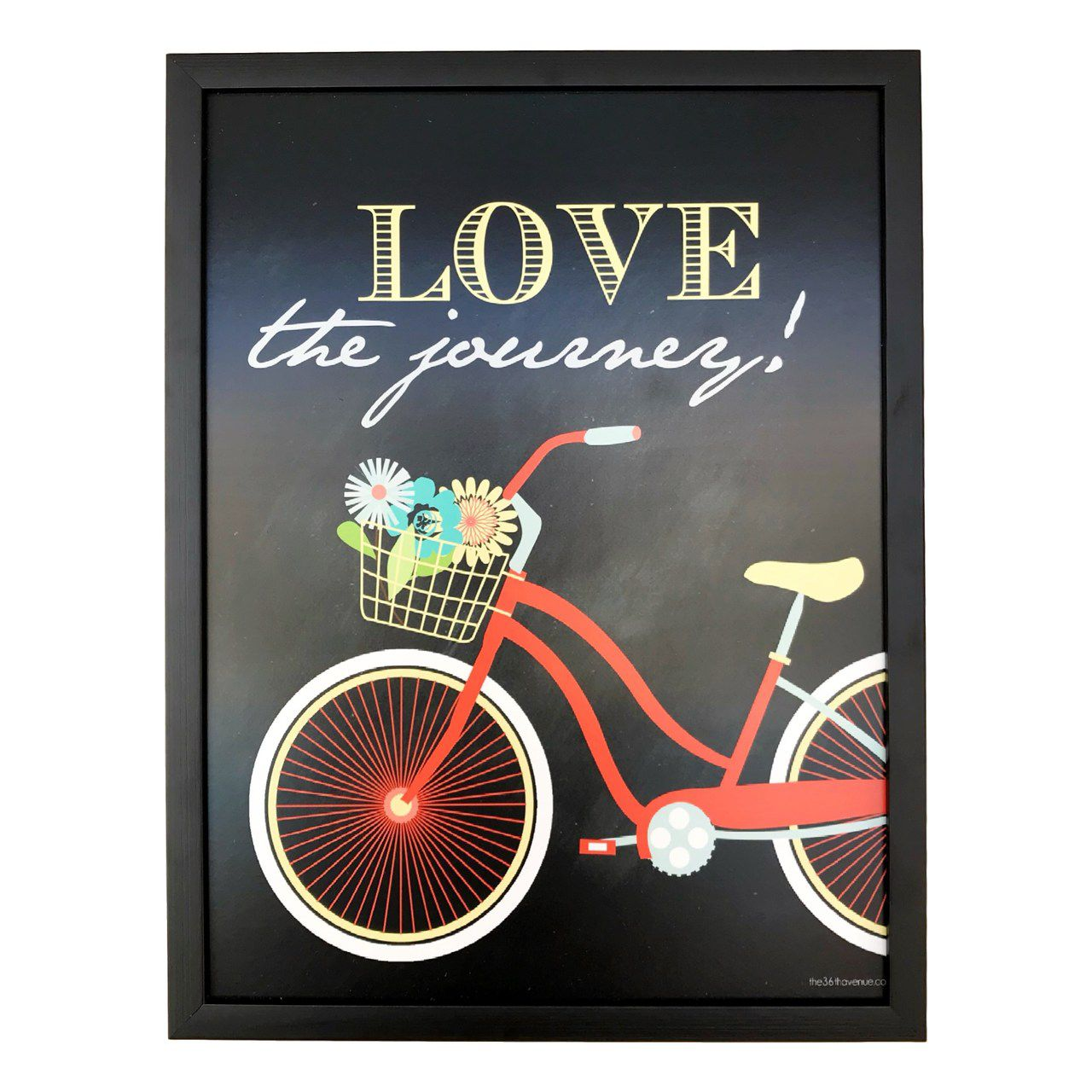 Quadro - Love the Journey (32 x 42 cm)