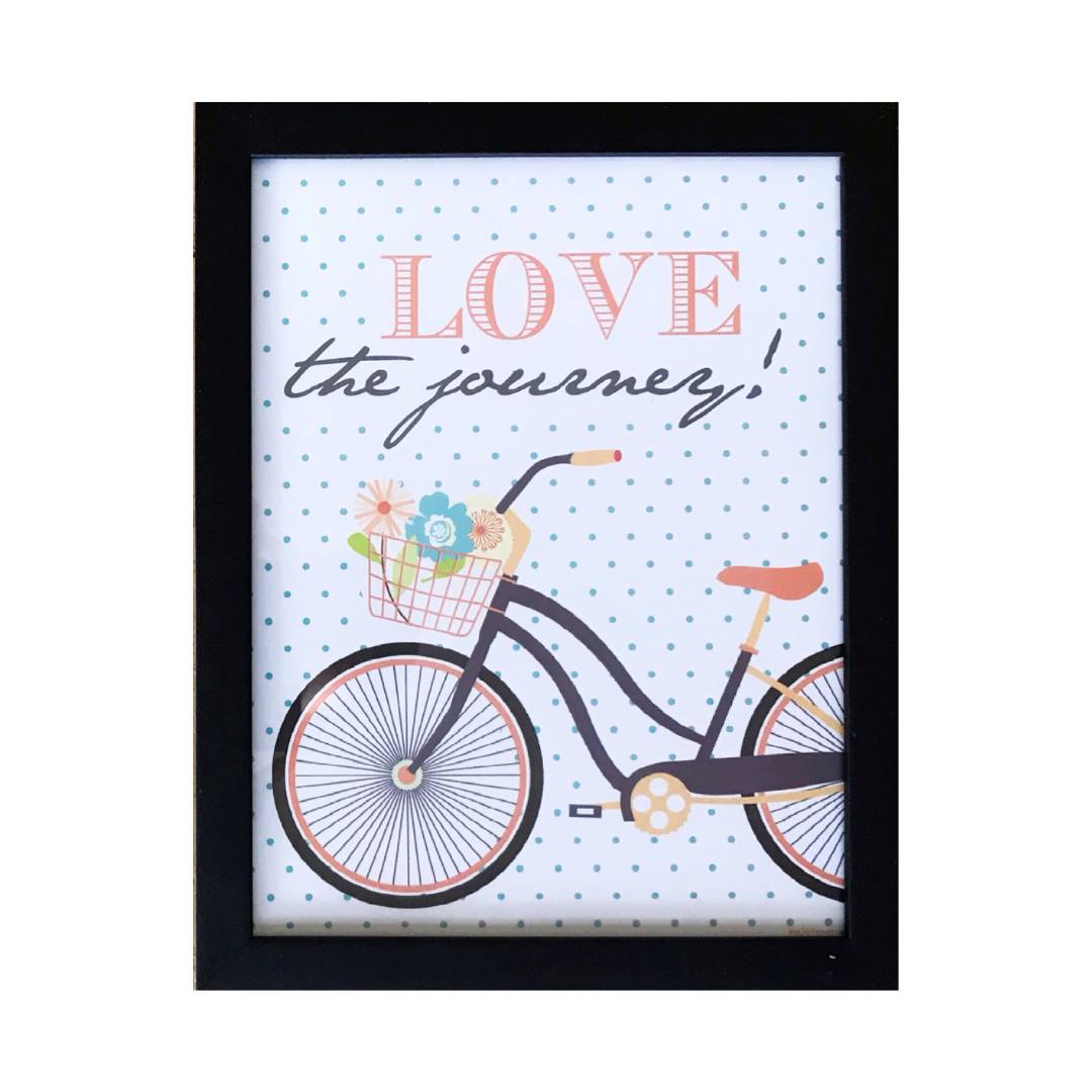 Quadro - Love The Journey - 26x33cm
