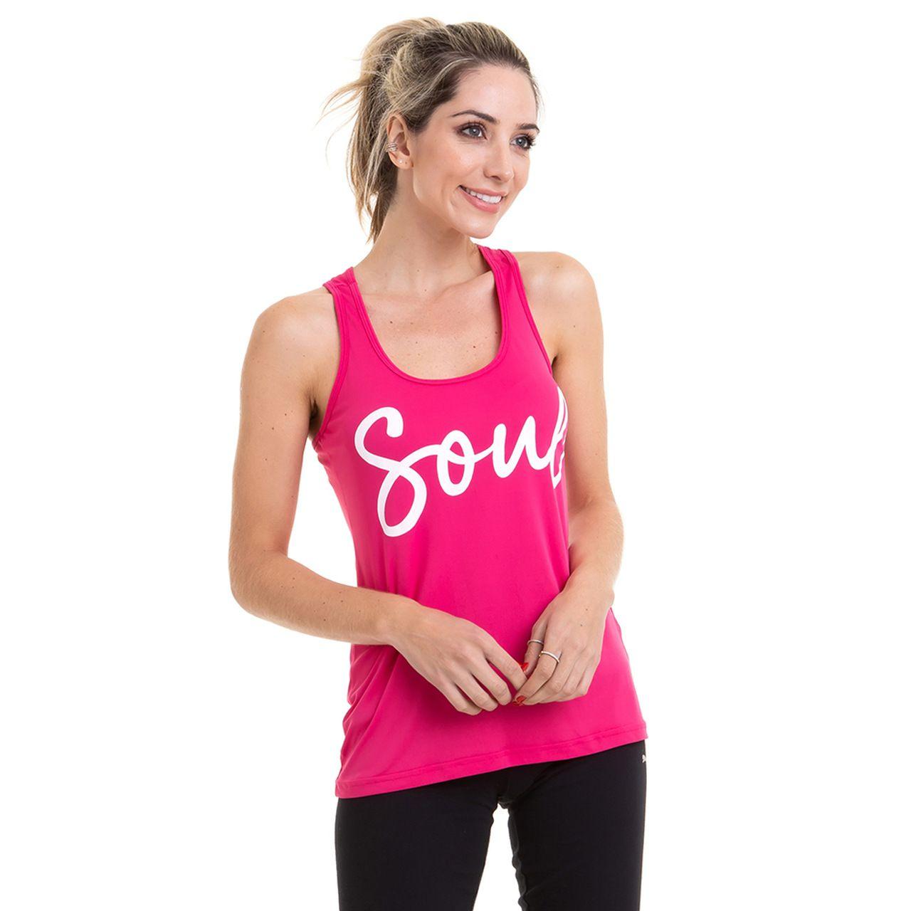 Regata Yoga  Poliamida - Soul (Rosa)