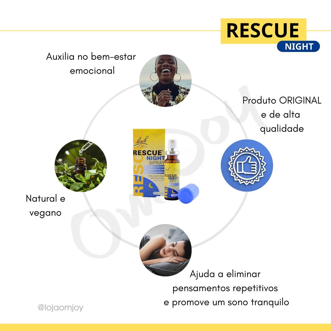 Rescue Night Spray 20 ml - Mona´s Flower