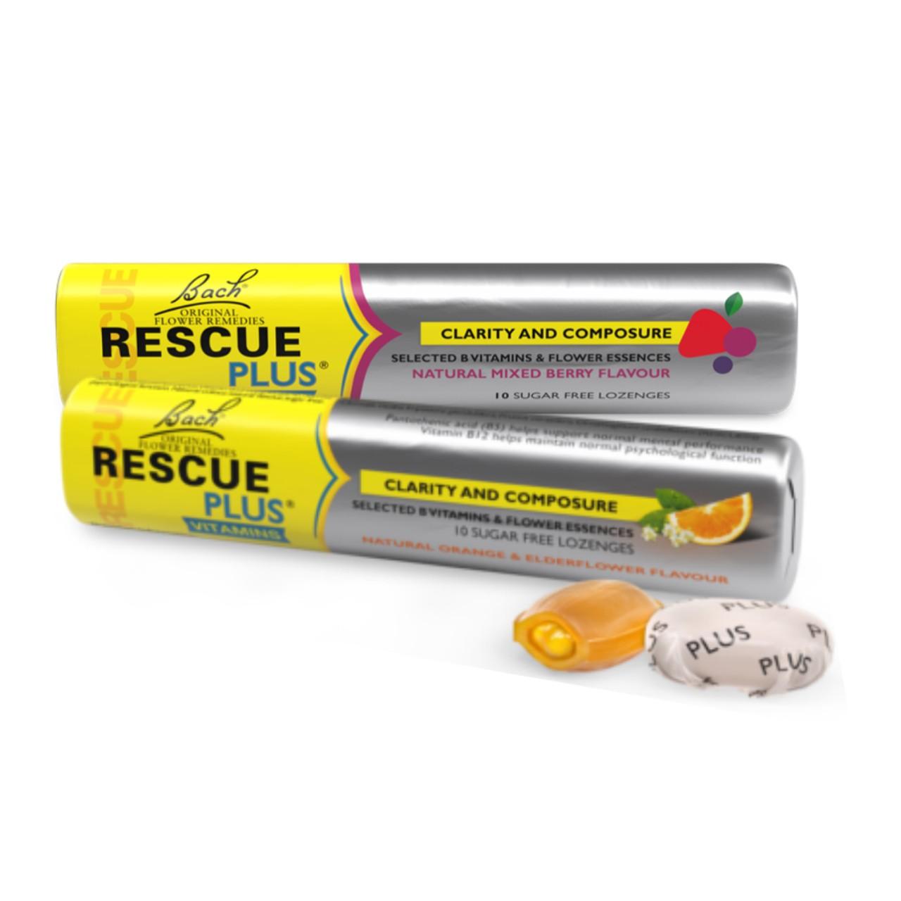 Rescue Plus - Berry (Frutas Vermelhas) e Laranja
