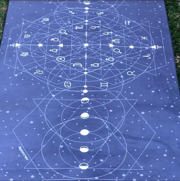 Tapete Aveludado Astrologia