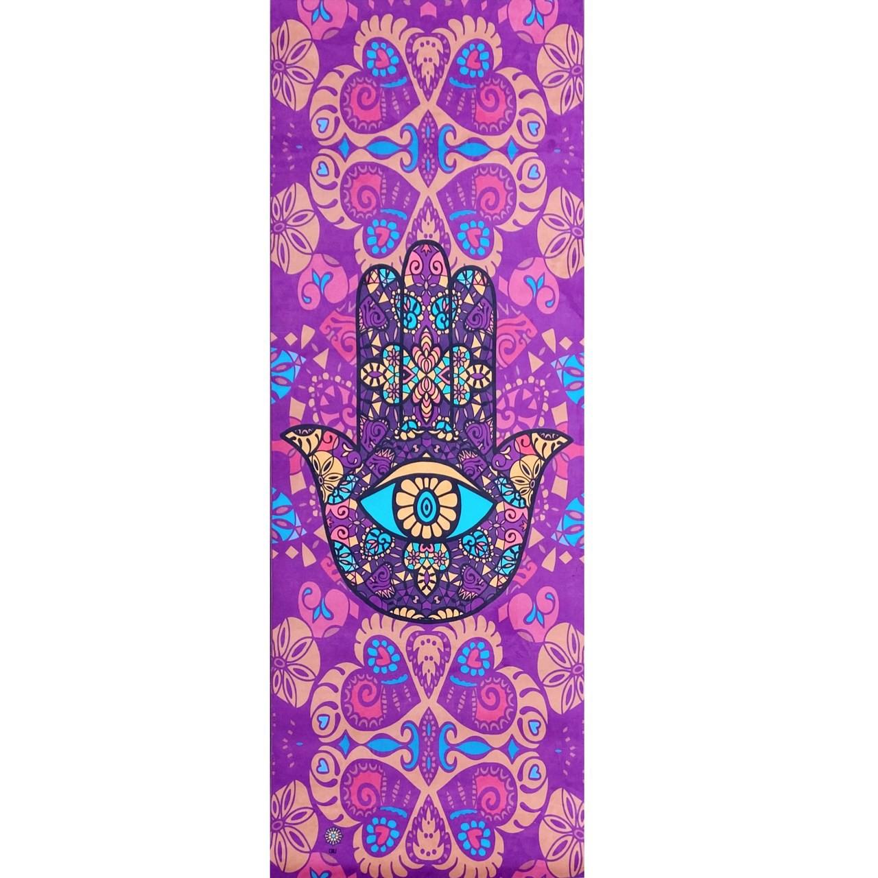 Tapete de Yoga Aveludado Hamsa