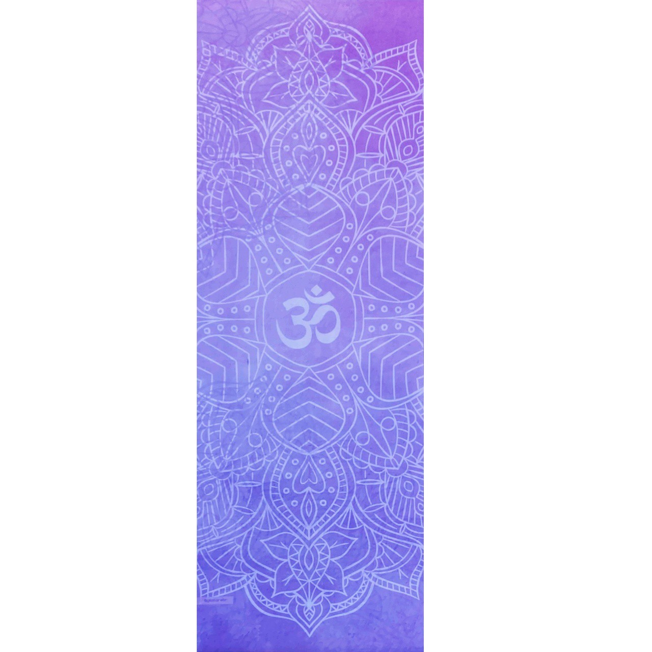 Tapete de Yoga Aveludado  Om Lilás