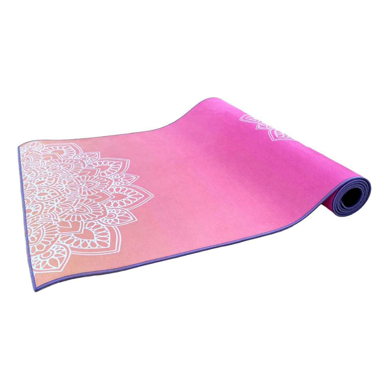 Tapete de Yoga Estampado Aveludado -  Sunset