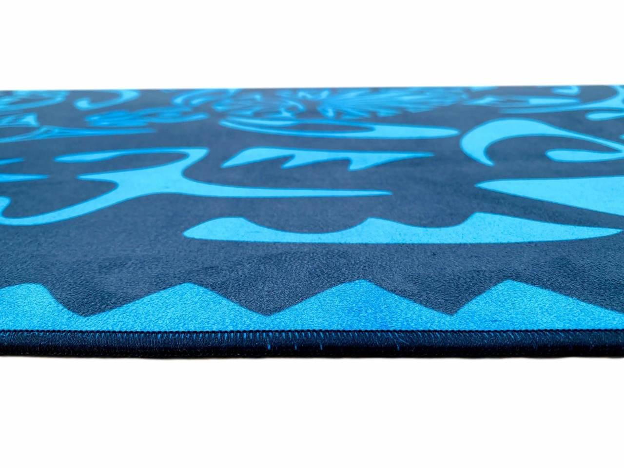 Tapete de Yoga Estampado Aveludado - Maori