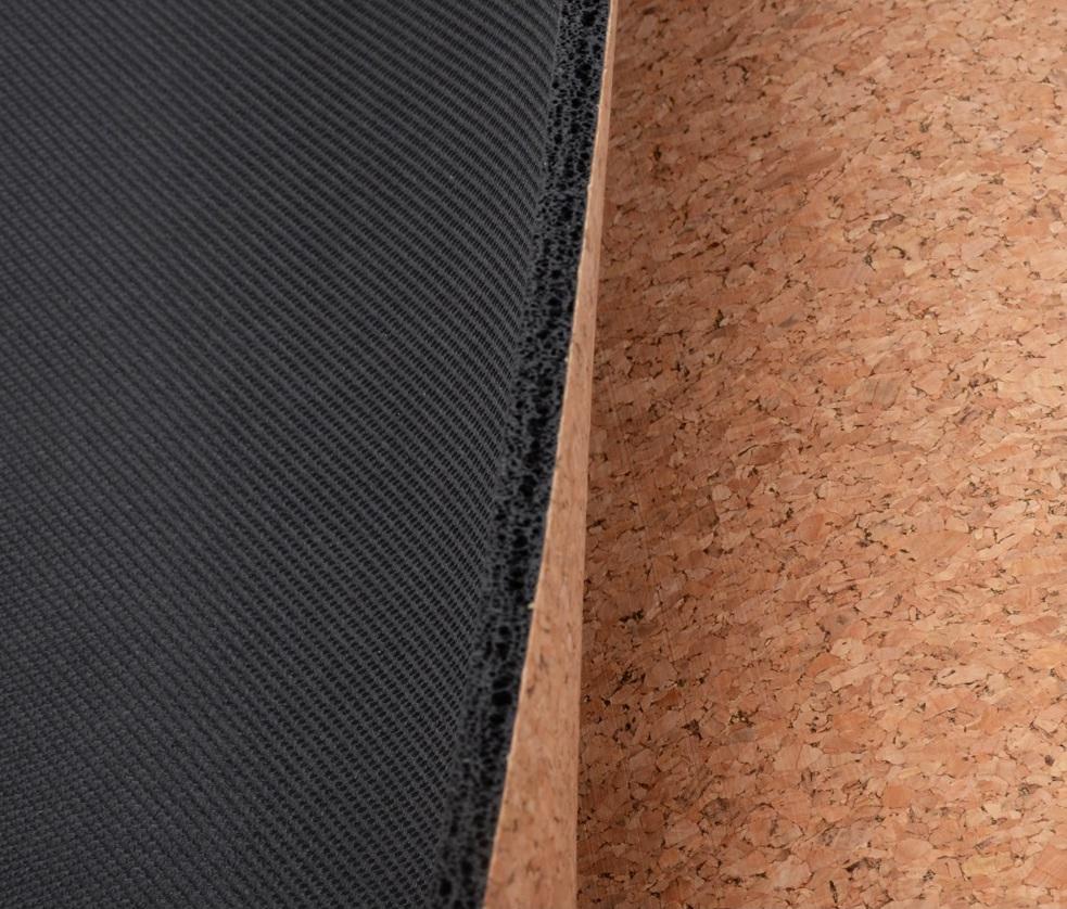 Tapete de Yoga Estampado - Cortiça e Borracha Natural - Apanhador de Sonhos - 5mm 183x68cm