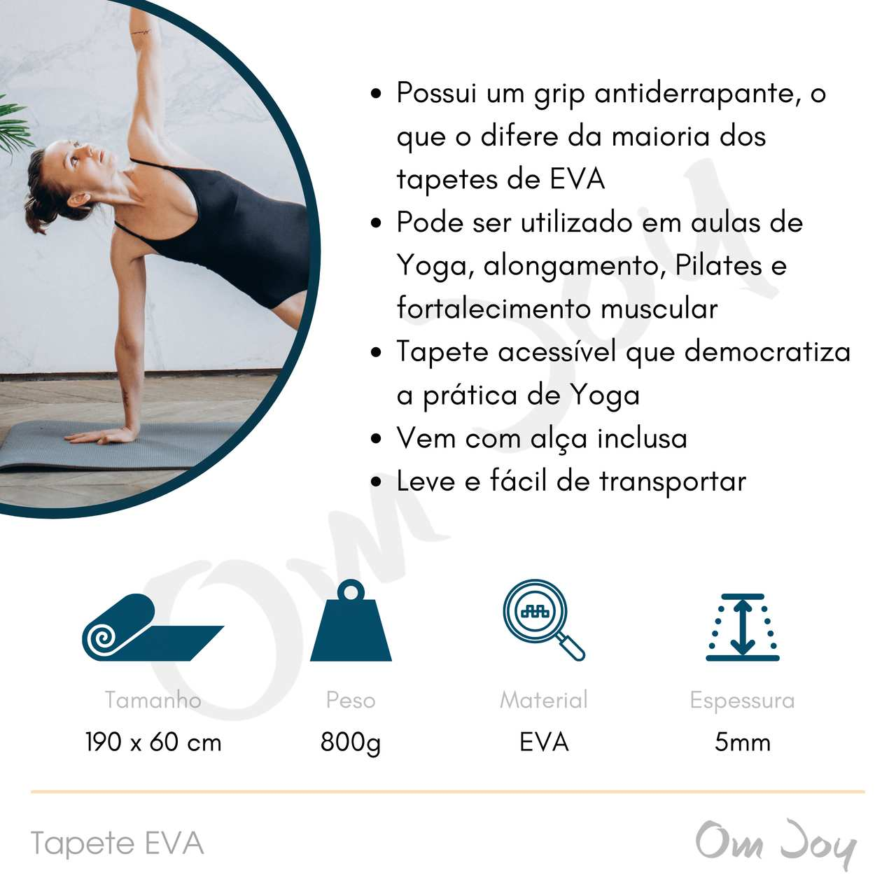 Tapete de Yoga / Pilates - EVA