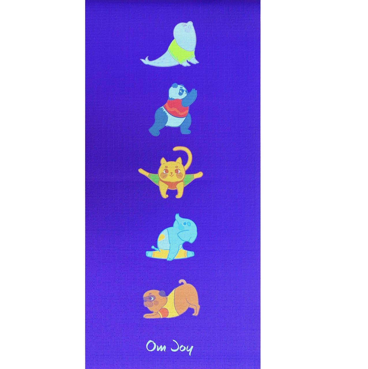 Tapete de Yoga Infantil PVC Estampado Kids - Bicharada
