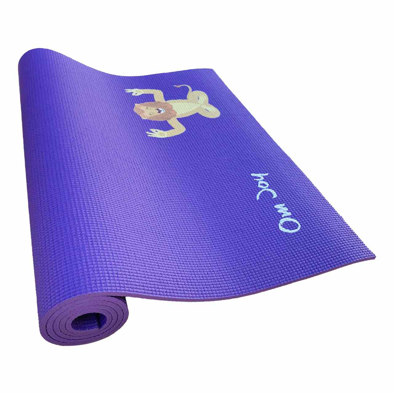 Tapete de Yoga Infantil PVC Estampado Kids - Juba, o Leão