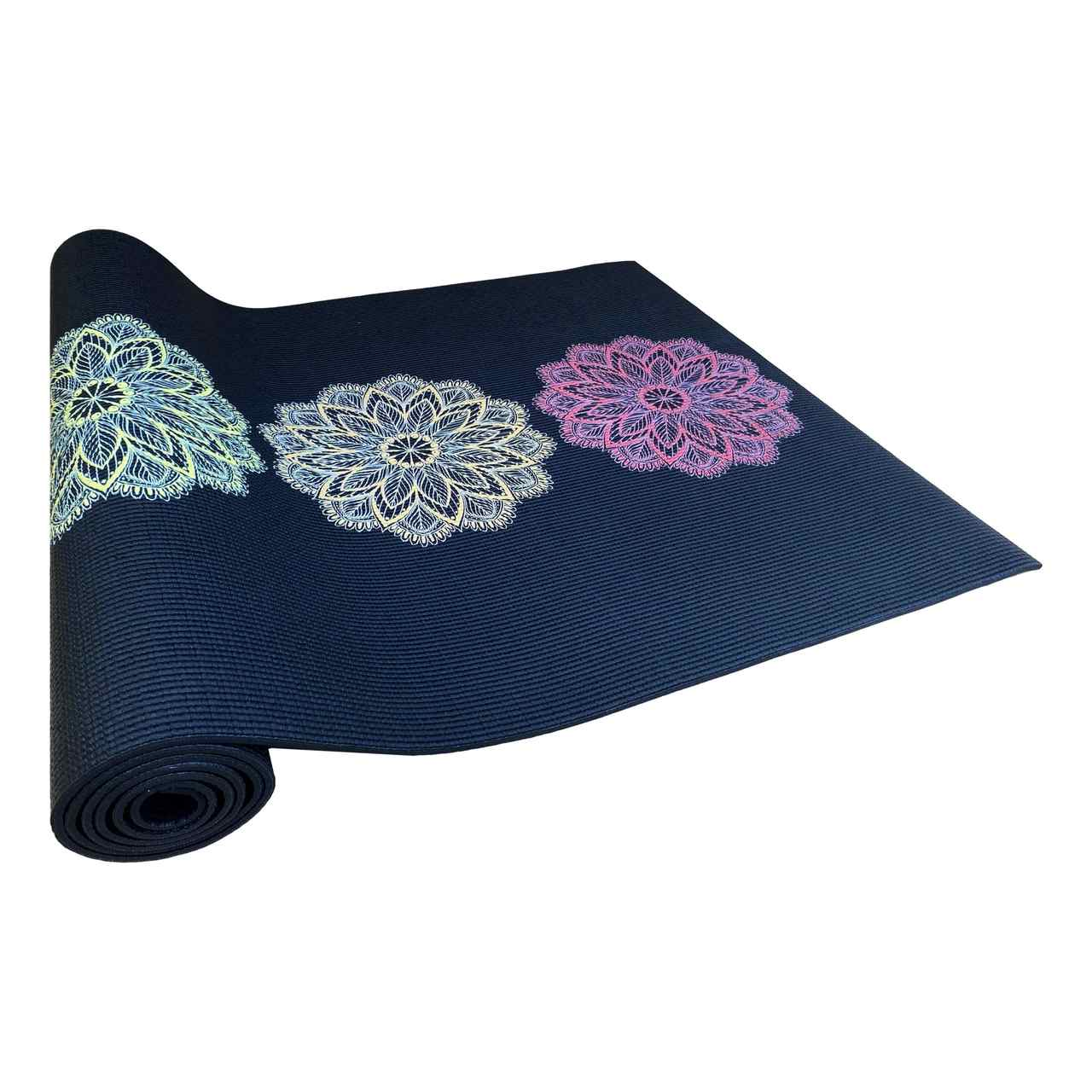 Tapete de Yoga PVC Estampado - Chakras Colorido