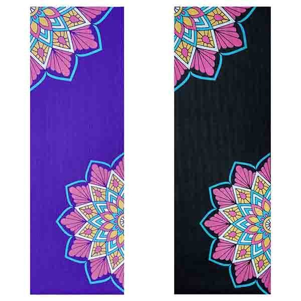 Tapete de Yoga PVC Estampado - Mandala Colorida