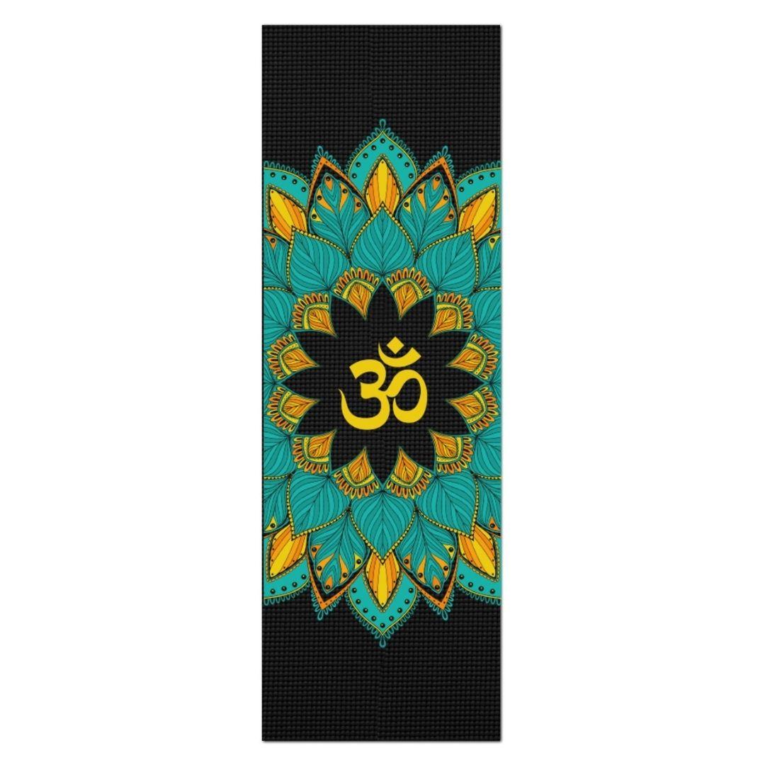 Tapete de Yoga PVC Estampado - Mandala Om