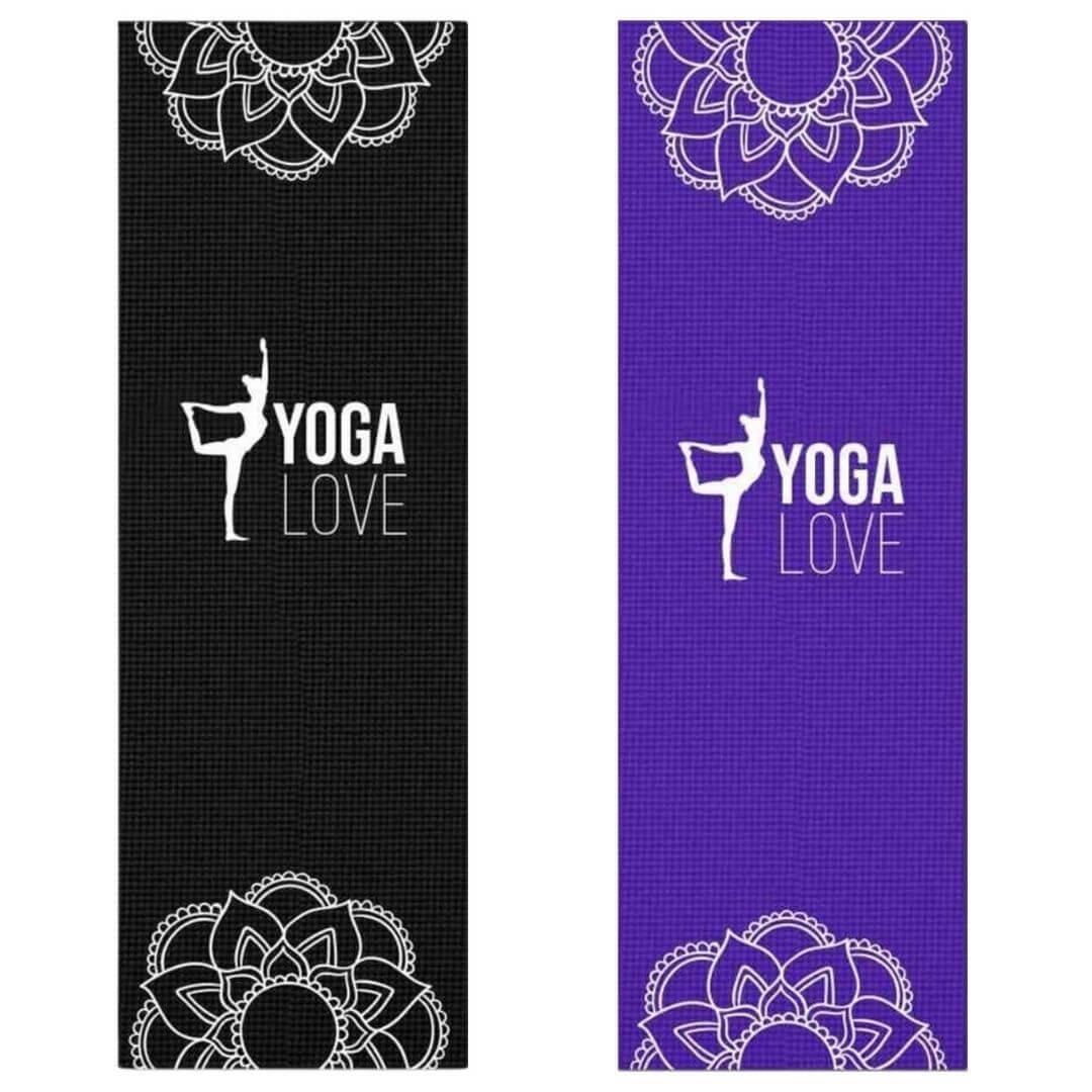 Tapete de Yoga PVC Estampado - Natarajasana