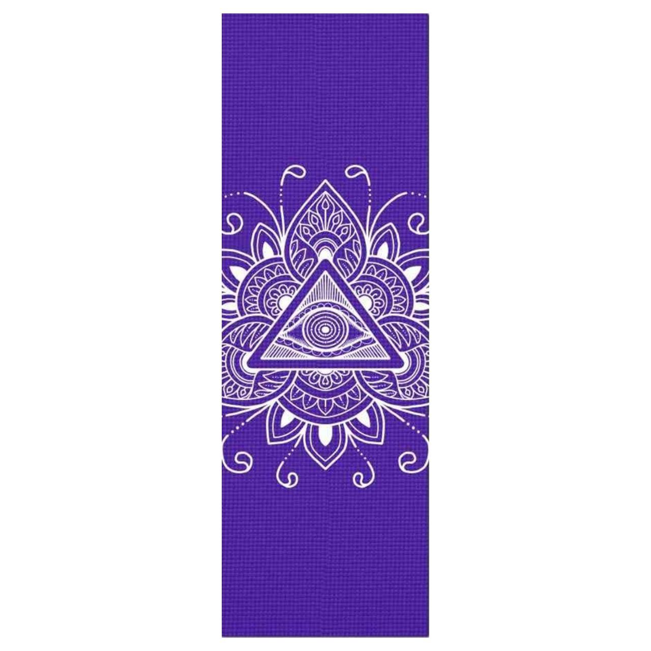 Tapete de Yoga PVC Estampado - Olho