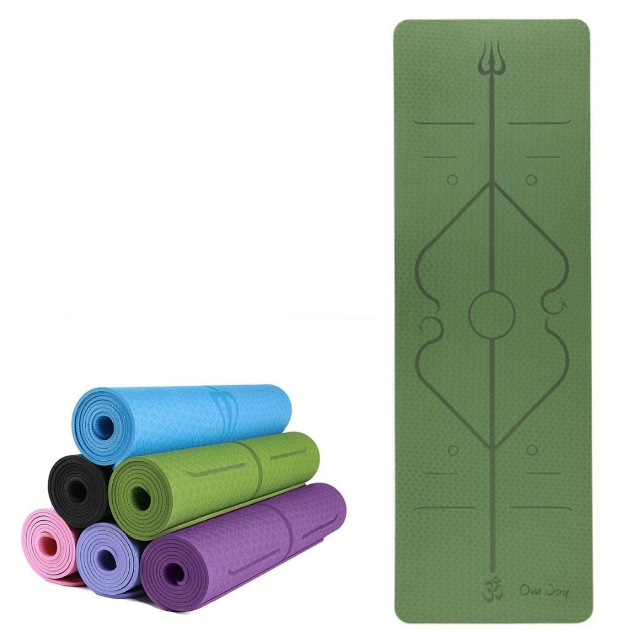 Tapete de Yoga TPE - 6mm - Linha de Posturas