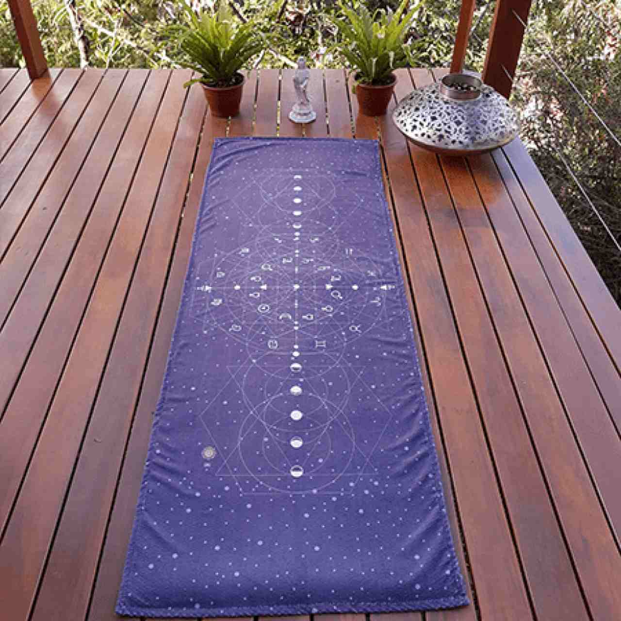 Toalha Antiderrapante Yoga