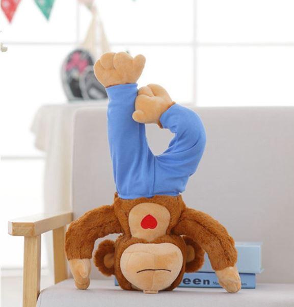 Urso Yogi Kids - Infantil - Yoga para Crianças - Macaco