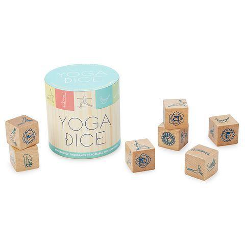 Yoga Dices: 7 Dados de Madeira, Milhares de Combinações!