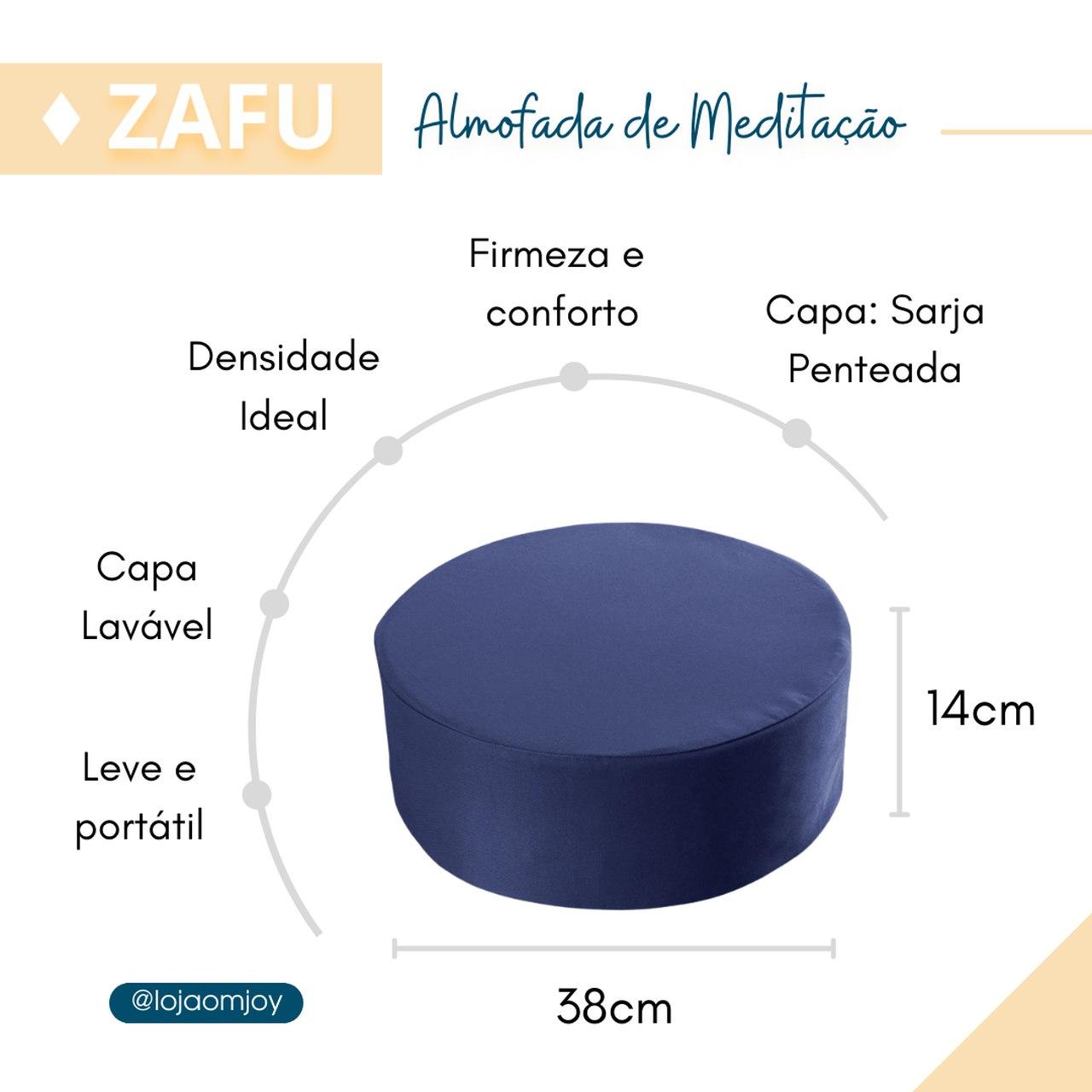 Zafu - Almofada para Meditação - Yoga