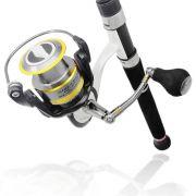 Molinete Pesca de Praia Grande 6 Rolamentos Highlander 6500 Sumax