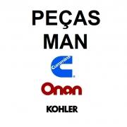 Peças Diversas para Motor MAN, Gerador Onan, e Kohler