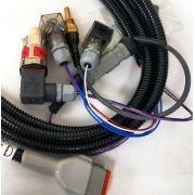 Sensor de Temperatura MAN PT1000 + chicote com sensor de pressão 0-25 bar
