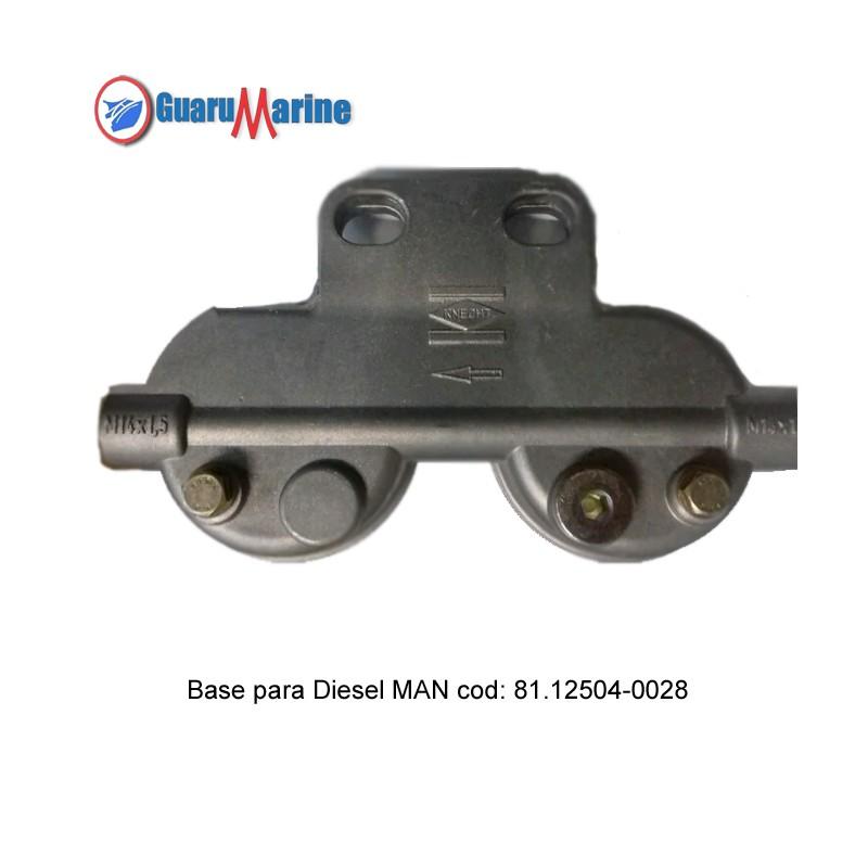 Base para Filtro Diesel MAN - original