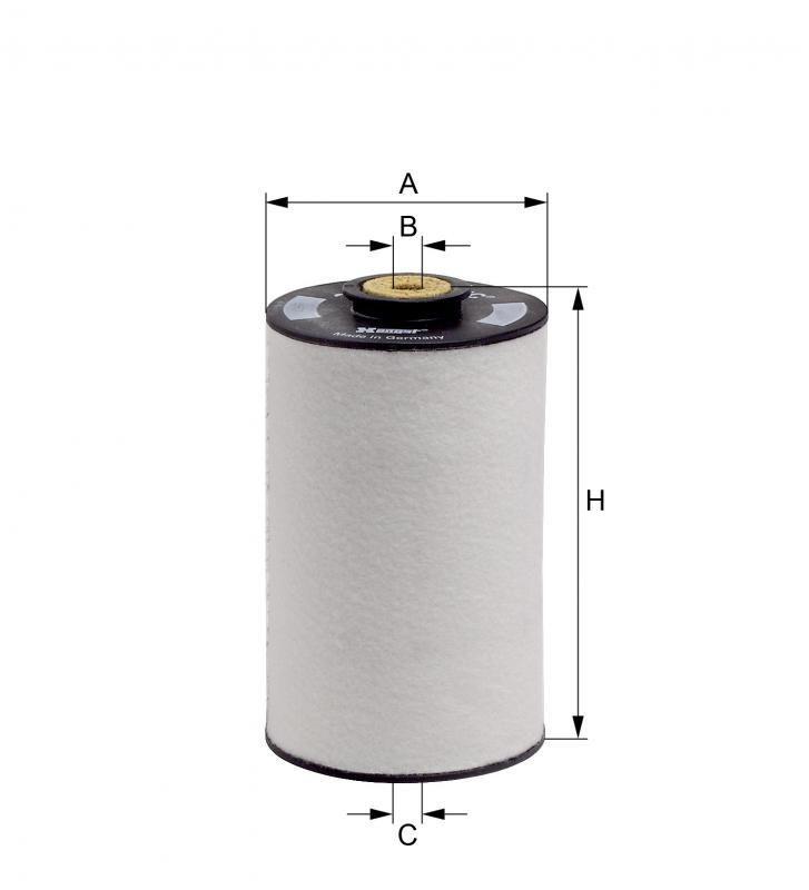 Filtro Combustível 1/2 litro Hengst E5KFR3 D201 Fc161 (par)