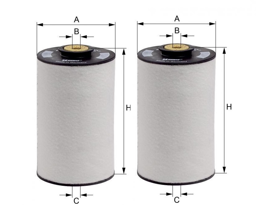 Filtro Combustível 1/2 litro - (Par)