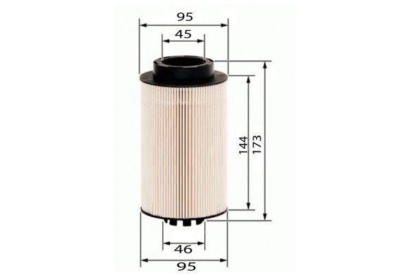 Filtro Diesel 51.12503-0061