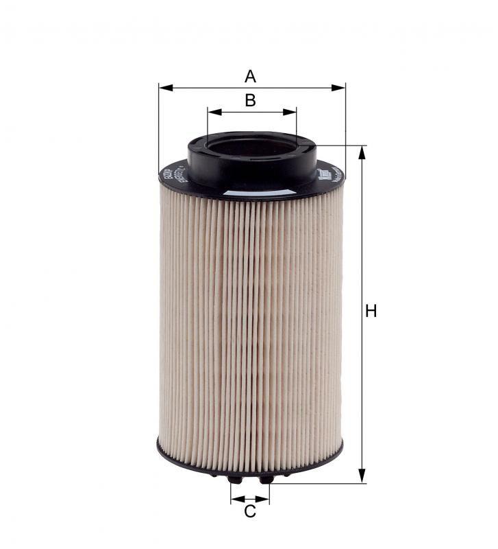 Filtro Diesel para Motor MAN 51.12503-0061 - Hengst