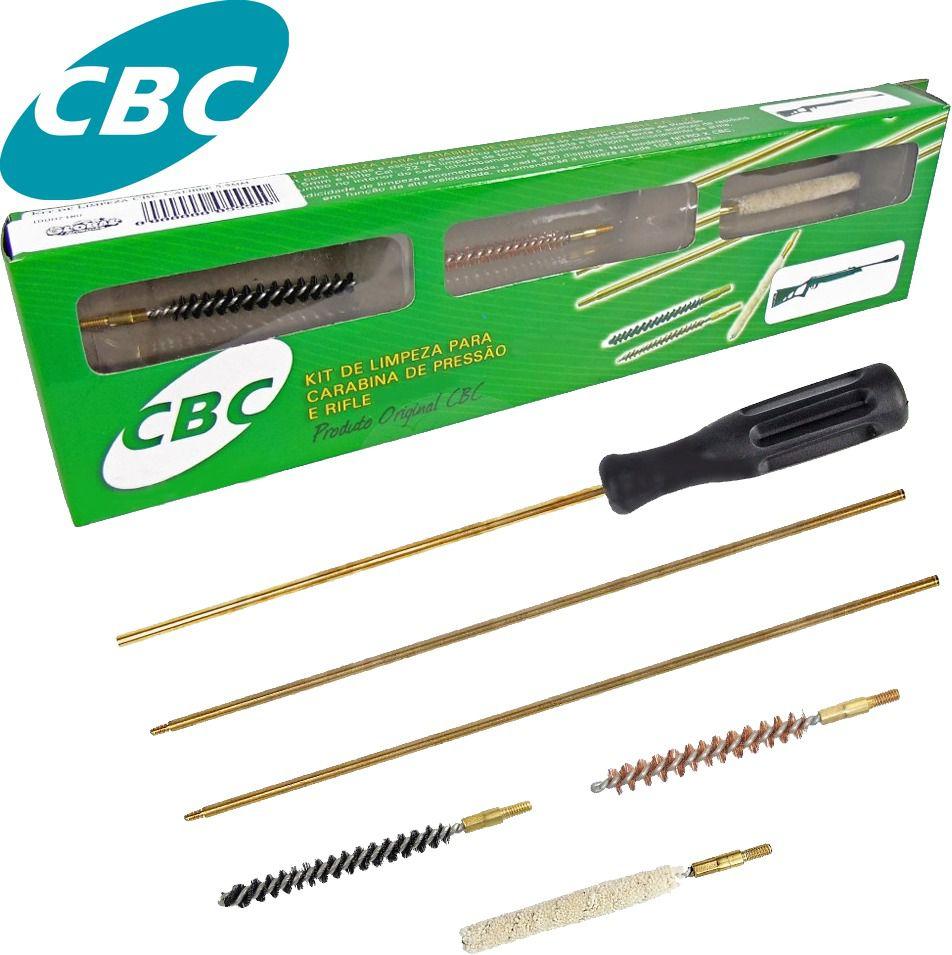 Kit De Limpeza Para Carabina E Pistola Calibre 4,5 mm Cbc