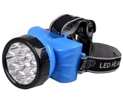 Lanterna de Cabeça 7 LEDs Bivolt Recarregável
