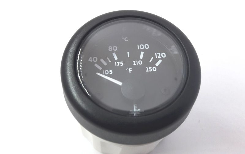 Relógio Medidor de Temperatura VDO 12 V para Barco