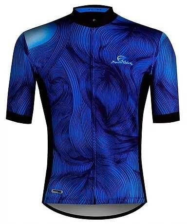 - Camisa De Ciclismo Mauro Ribeiro Guide Azul