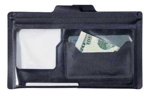 Bolsa Bontrager Carteira Pro Ride Plus Transparente/preta Trek Original