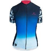 - Camisa Ciclismo Feminina Mauro Ribeiro Azul/vermelha